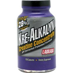 Labrada: Kre-Alkalyn Creatine Concentrate 120 ct