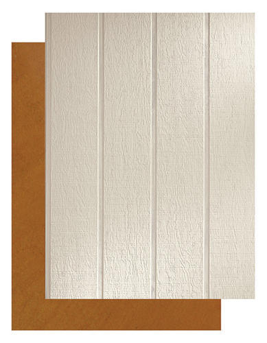 Lp 174 Smartside 174 3 8 Quot X 4 X 8 Grooved 8 Quot O C Panel Siding With Smartfinish 174 At Menards 174