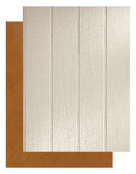 "LP® SmartSide® 3/8"" x 4' x 8' Grooved 8"" O.C. Panel Siding with SmartFinish®"
