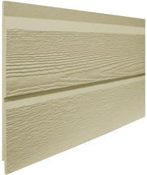 "LP® SmartSide® 1/2"" x 16"" x 16' Double 8"" Engineered Wood  Bold Dutchlap Profile Cedar Textured Lap Siding"
