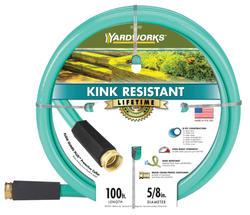 "Yardworks® 5/8"" x 100' Kink-Resistant Garden Hose"