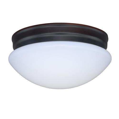 "Menards Turbo Fan Lighting Led Flush Mount Ceiling Lights: Biady 9.25"" 990 Lumens Dimmable LED Bronze Flush Mount At"