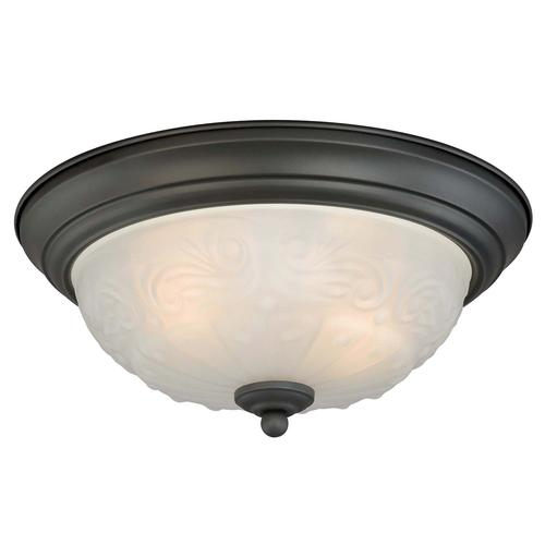 """Lamps Exciting Menards Ceiling Fans For Best Ceiling Fan: Amalia 2-light 13"""" Oil Rubbed Bronze Ceiling Light (2-Pack"""
