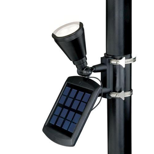 Solar Lights At Menards: Patriot Lighting® Solar Metal Flag Light At Menards®