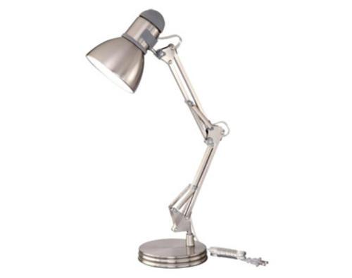 1 Light 255 Satin Nickel Adjustable Table Lamp At MenardsR