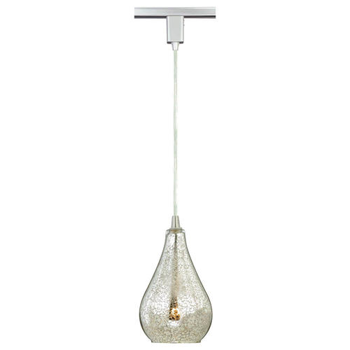 Pendant Track Lighting Menards : Aqua light quot satin nickel track pendant at