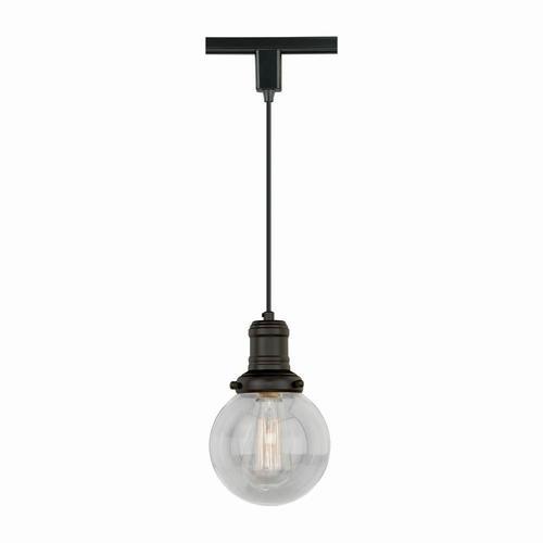 "Loft 1-Light 5.875"" Bronze Track Light Pendant At Menards®"