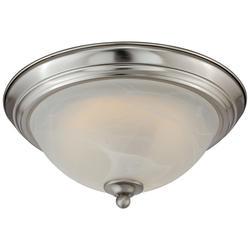 "Payton 11"" Satin Nickel 60-pc LED Ceiling Light"