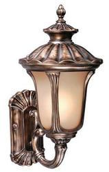 """Windsor 1-Light 22"""" Parisian Bronze Outdoor Wall Light"""