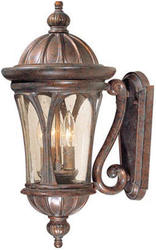 "Cambria 3-Light 19.5"" Royal Bronze Outdoor Wall Light"