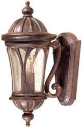"Cambria 1-Light 14"" Royal Bronze Outdoor Wall Light"