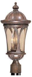 "Cambria 3-Light 20"" Royal Bronze Outdoor Post Light"