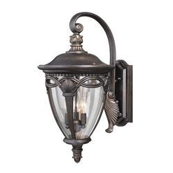 "Balmoral 3-Light 26"" Noble Bronze Outdoor Wall Light"