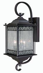 "Avis 3-Light 16.5"" Noble Bronze Outdoor Wall Light"