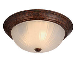 """Cornwall 3-Light 15"""" Weathered Patina Ceiling Light"""