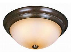 "Verona 3-Light 15"" Royal Bronze Ceiling Light"