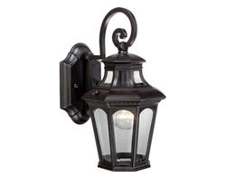 "Athena 1-Light 12.5"" Oil Rubbed Bronze Outdoor Wall Light"