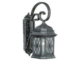 "Chelsea 1-Light 20-1/2"" Vintage Patina Outdoor Wall Light"