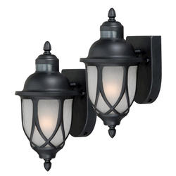 Levittown 1-Light Twin Pack 220-Degree Motion Activated Light