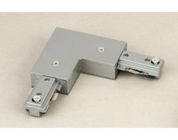 Brushed Nickel L Connector