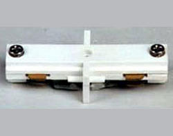 White Straight Connector