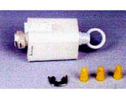 White Track Pendant Adaptor