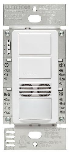 lutron maestro 6 amp 3 way dual circuit dual tech. Black Bedroom Furniture Sets. Home Design Ideas