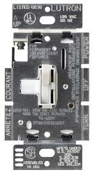 Lutron Toggler; 600-Watt Single-Pole Dimmer with Nightlight