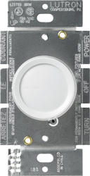 Lutron Rotary 600-Watt Single-Pole Dimmer with Locator Light
