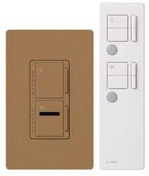 Lutron Maestro® IR® 300-Watt Dual Dimmer and Fan Control
