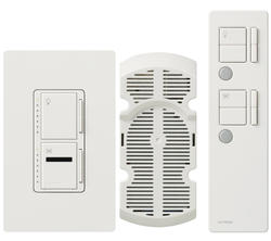 Lutron Maestro® IR 300-Watt Single-Pole Fan and Light Control Kit