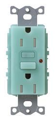 Lutron Satin Colors; 15-Amp Tamper-Resistant GFCI Receptacle