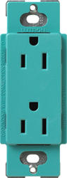 Lutron Satin Colors; 15-Amp Receptacle