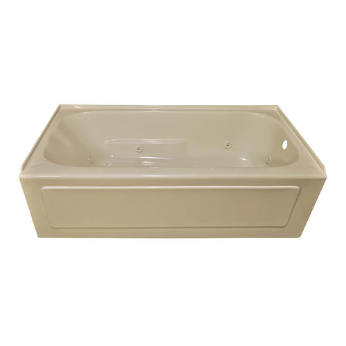 Lyons elite 60 x 30 x 16 right hand drain whirlpool at for Lyons whirlpool tub