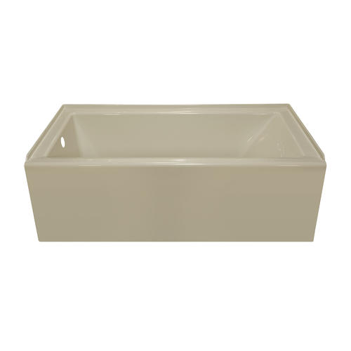 lyons linear 60 x 32 x 19 left hand drain bathtub at
