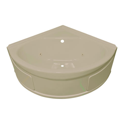 lyons sea wave v whirlpool corner bathtub at menards