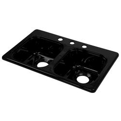 """Lyons 28"""" x 17-1/2"""" x 6-1/4"""" S-Style Sink with 3-1/2"""" Drain"""