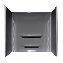"""Lyons Elite™ Center Shelf 60"""" x 30"""" x 59"""" 3-Piece Bathtub Wall Kit"""