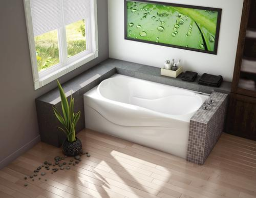 Shower Tub Combo Menards: Maax® Murmur 6032 A Hydrosens & Aerosens Combo Tub With