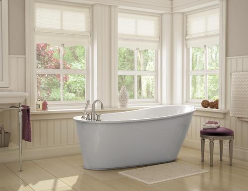 maax sax freestanding 60 x 32 fiberglass bathtub at