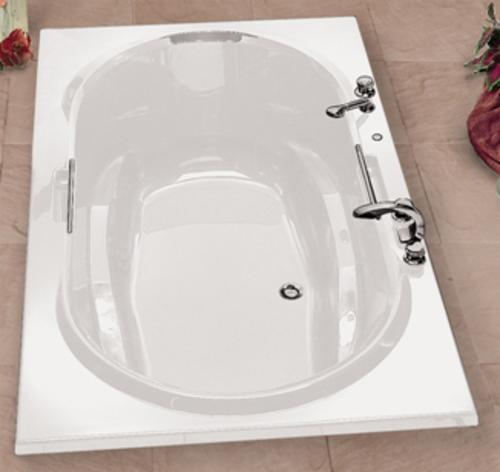 maax antigua 72 x 42 soaker bathtub at menards