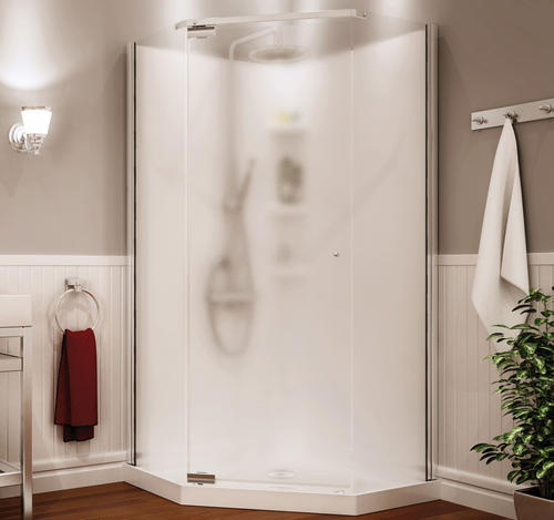 Maax 174 Begonia 36 Quot Neo Angle Shower Kit Vapor Glass At