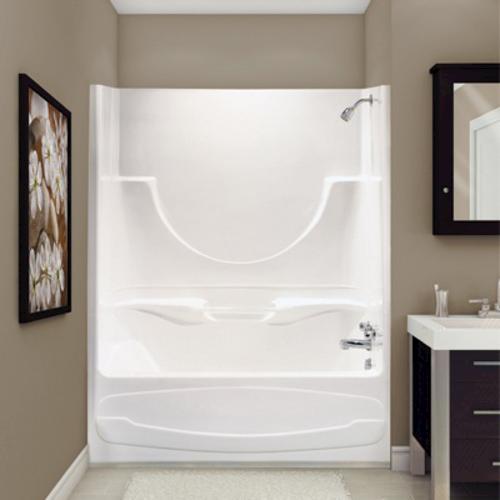 Maax Figaro II 1 Piece Tub Shower AFR Left Drain