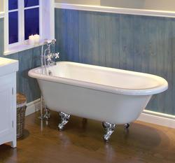 "Maax® Daydream 58"" x 29-1/2"" x 23"" White Acrylic Clawfoot Tub"
