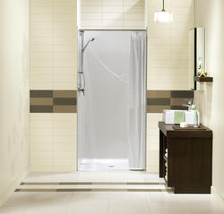 "Maax® 36"" Barrier Free One-Piece Shower"