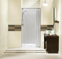 "Maax® 36"" Barrier Free One-Piece Shower"