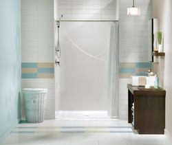 "Maax® 48"" Barrier Free One-Piece Shower"
