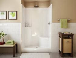 Maax® Evergreen 1-Piece Shower (RH Seat, Center Drain)