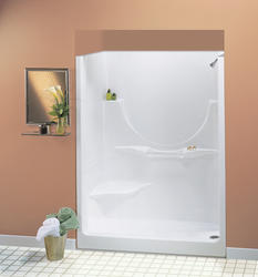 "Maax® 60"" Allegro II 2 Piece Shower (LH Seat, No Roofcap, RH Drain)"