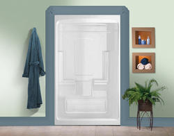 """Maax® 51"""" Tempo 1-Piece Shower w/ Roofcap (No Seat)"""